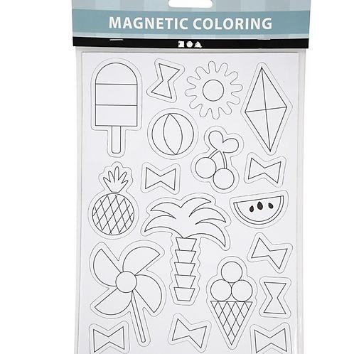 Magnetische Kleurplaat