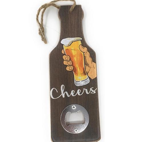 Flesopener Tekst Voor Aan De Muur Houten Fles Opener Gadget Cadeau Verjaardag