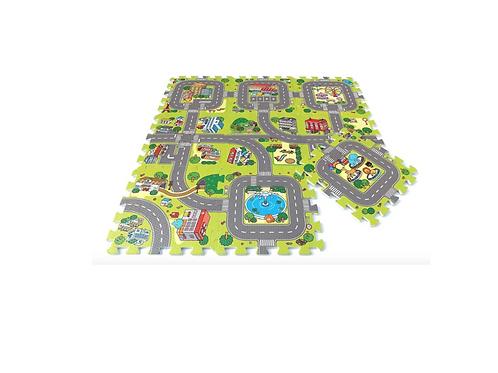 Puzzelmat Baby Foam Stad Speelmatten Binnen Buiten Kinderopvang Foam Playmat
