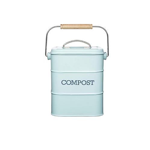 Retro Compostemmer Keuken Aanrecht Compostbakje Keukenafvalemmer