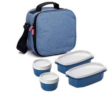 Lunchtas-Met-Opslagcontainer-Compleet-Lunchbox-Unisex-Waterdicht-Geisoleerd-Koeltas-Warmho