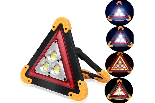 Gevarendriehoek Auto Led Pechlamp Set Noodlicht Werklamp Survival Powerbank