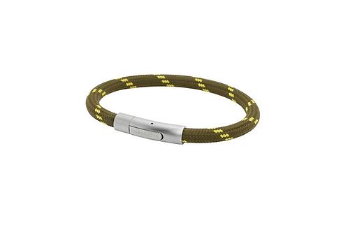 Energetix sportieve armband in groen met een roestvrijstalen sluiting