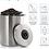 Thumbnail: Bewaardoos koffiebonen luchtdicht 1 kilo bewaarblik RVS voorraadbus
