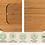Thumbnail: Snijplank bamboe met rand sapgoot antislip snijvlak