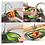 Thumbnail: Keukenzeef Plastic Opvouwbaar Vergiet In Spoelbak Inklapbaar Keuken Zeef