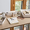 Thumbnail: Bureau organizer Organiseren van Badkamer Kunststof Wit Set 4 Stuks