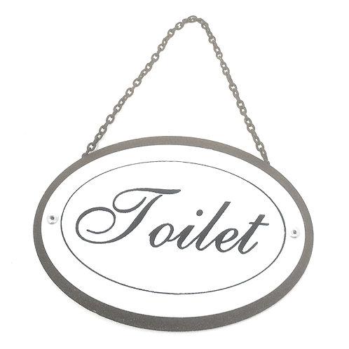 Bordje Toilet voor aan de deur of muur te hangen