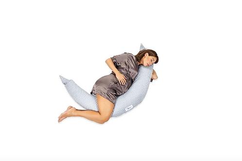 Zwangerschapskussen Buikslaper Hoe Slapen Houding Voedingskussen 6 manieren