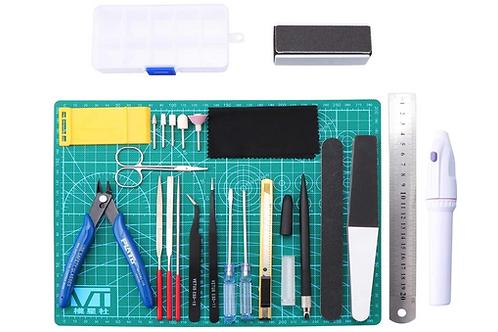modelbouw basis gereedschap set beginners accessoires Hobby