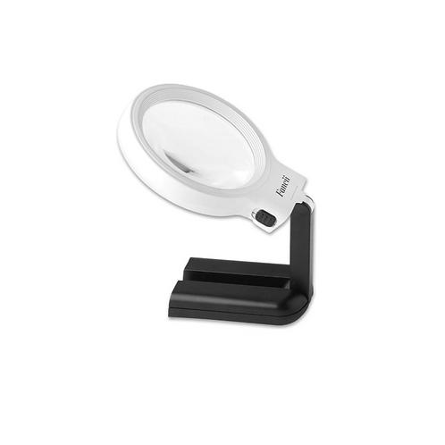 Staande Loeplamp Met Verlichting Tafelmodel Op Voet Opvouwbaar