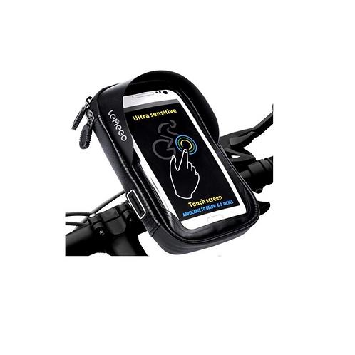 Fietstas Smartphone GSM Houder Fiets Waterdicht Met Klem 360 Racefiets Card Vak