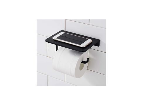 Toiletrolhouder Ophangen Zonder Boren Zwart
