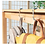 Thumbnail: Tassenhaak antislip voor tafel draagbare tassenhouder handtas paraplu