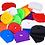 Thumbnail: Sleutelkapje kleur vierkante ronde sleutelhoesjes sleutels uit elkaar houden