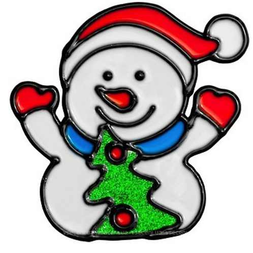 Raamdecoratie Kerst Sticker Raam Raamversiering Rendier Kerstboom Sneeuwman Raam