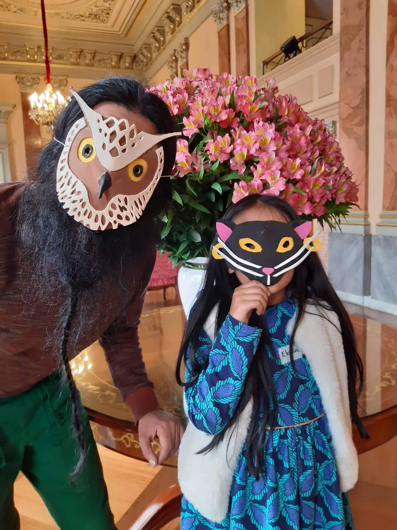 Taller de máscaras para niños