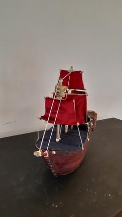 Barco Pirata Barba Roja
