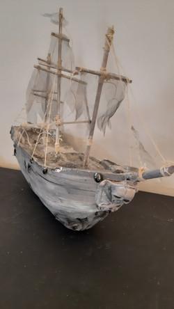 Barco Pirata Fantasma