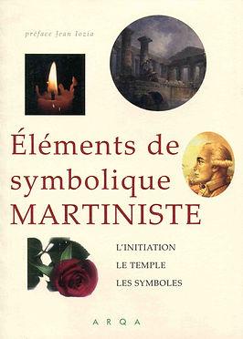 Livre Elements de Symbolique Martiniste.