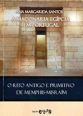 Livre A Maçonaria Egipcia Em Portugal