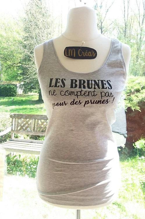 "T-shirt ""les Brunes"""