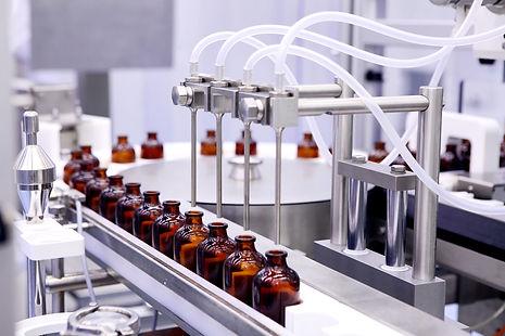 Bottling and packaging of sterile medica