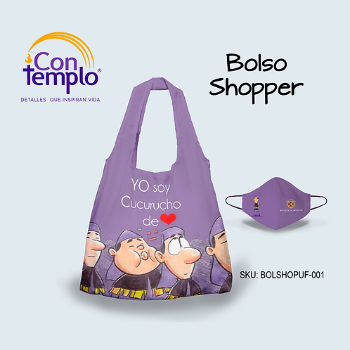 "COMBO BOLSO SHOPPER ""CUCURUCHO"""