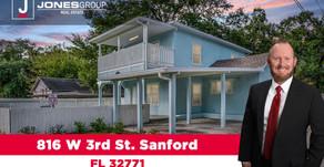 816 W 3rd St. Sanford, FL 32771
