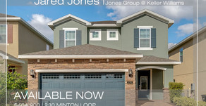 Top Agent in Osceola County–Jared Jones–Lists: 230 Minton Loop, Kissimmee, FL 34747