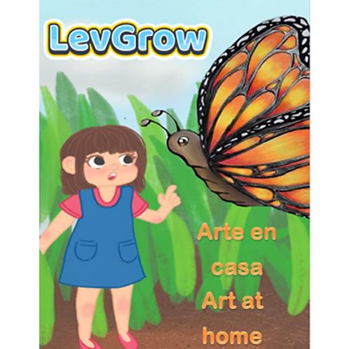 Arte en casa Bilingüe Español-Inglés