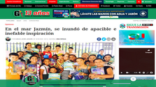 """PERU-News of the presentation of the anthology of poetry """"A Jasmine around the world"""" in the newspaper """"Gaceta Uyucalina"""""""