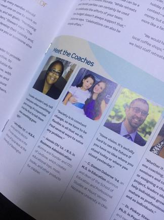 Jazmín as a Business Coach for Walden Magazine, USA
