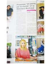 """MEXICO-News of the presentation of the anthology of poetry """"A Jasmine around the world"""" in the newspaper """"El Sol de Tampico"""""""