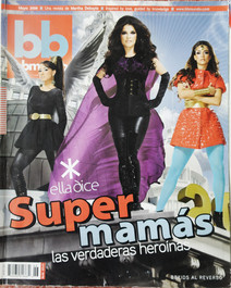 Chosen as the cover for the national magazine bbmundo, Mexico