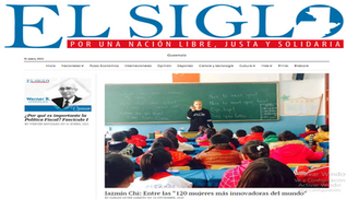 Interview for the Newspaper El Siglo