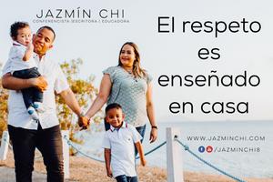 El respeto es enseñado en casa