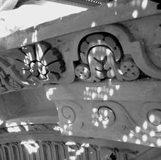 Restoration of an ornamental frieze