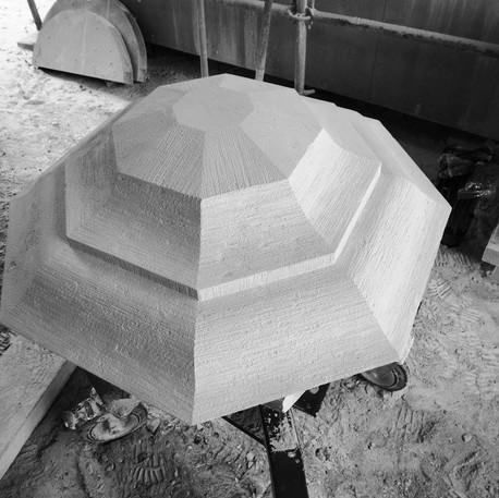 Restoration of a Pinnacle's diamond point