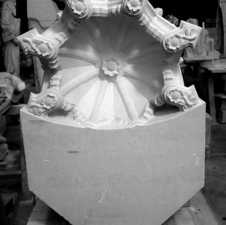 Restoration of an ornamental niche