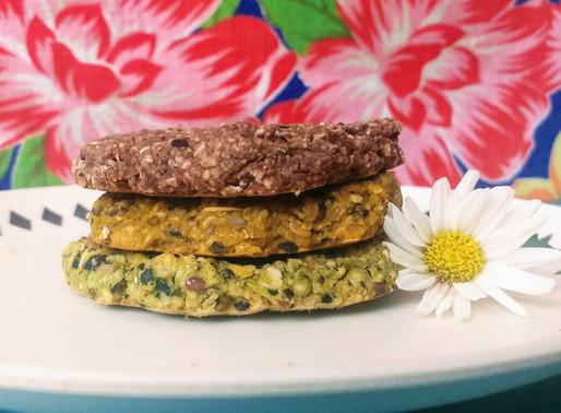 3 receitas de hambúrguer vegano reaproveitando ingredientes