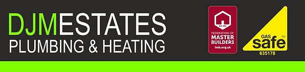 DJM Estates Plumbing and Heating letterh