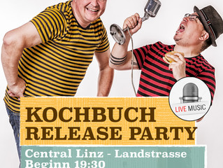 Der Countdown läuft: Kochbuch Release Party 25/10/18