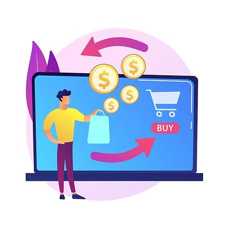 e-shopping-cartoon-web-icon-online-store