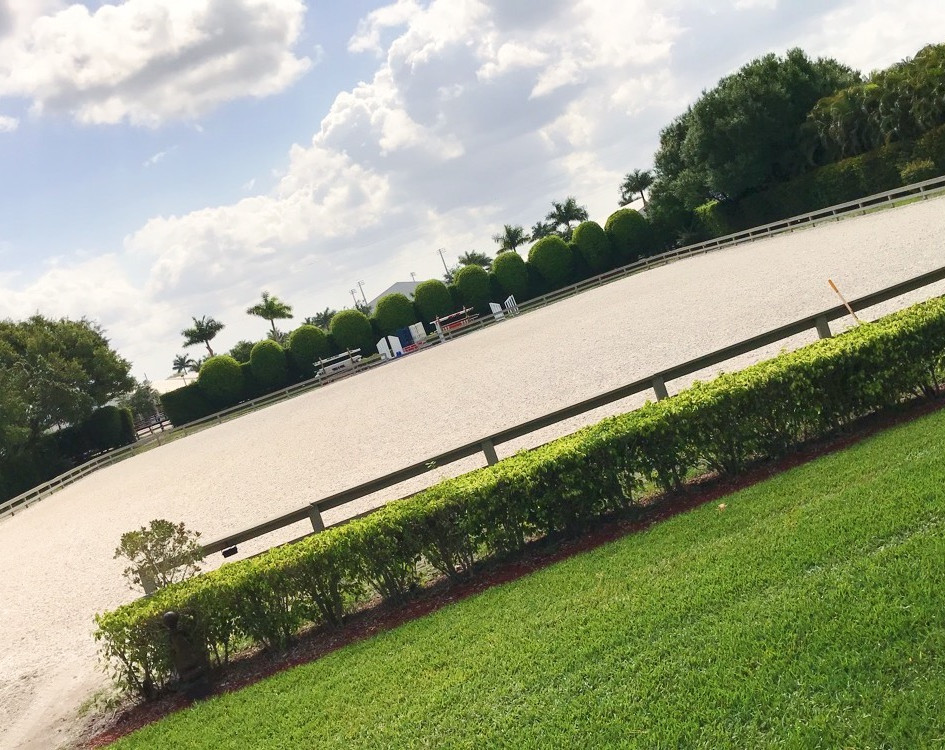 Private Arena in Grand Prix Village (Wellington, Florida)