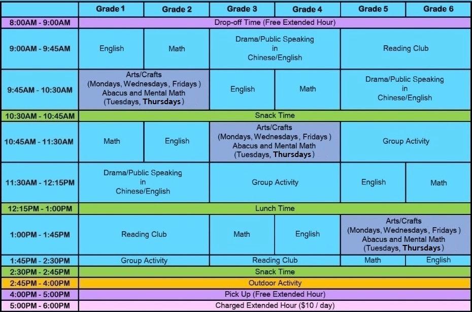 Summer Camp Schedule - Blue Background.j