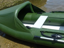 Close up showing Spearfish canopy and seat