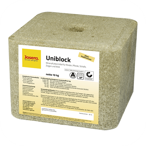 Josera Uniblock 10 kg