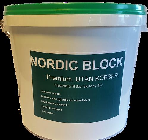 Nordic Block Premium u/kobber 20kg (10101)