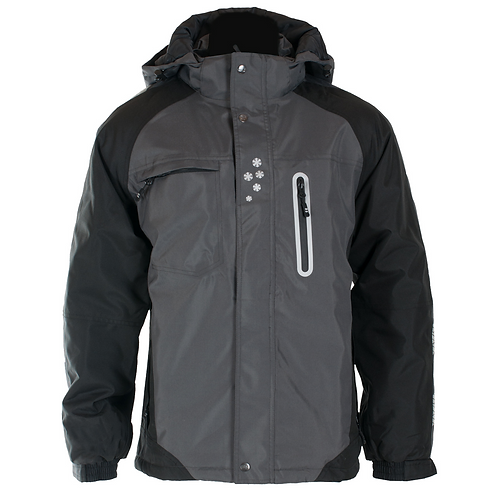 Hamar Vinterjakke grå/svart (022809098)